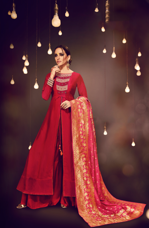 Designer Partywear Suits Online! Tacfab is the best online shopping site to buy designer partywear salwar kameez for women at great prices. https://www.tacfab.com/party-wear-suits