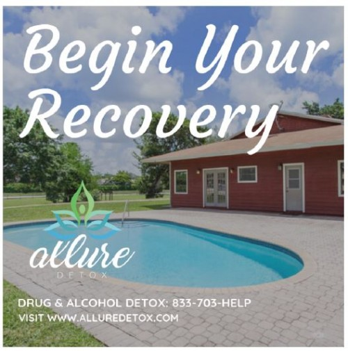 Allure Detox https://www.alluredetox.com We are a comfortable and evidence-based drug and alcohol detox in Boca Raton, Florida. We can free you or your loved one from the physical symptoms of addiction and start you on the path to recovery. drug detox boca raton, alcohol detox boca raton, heroin detox boca raton, opiate detox boca raton, benzo detox boca raton, xanax detox boca raton