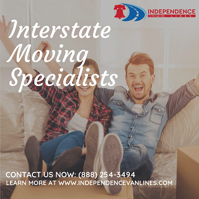 Independence Van Lines https://independencevanlines.com We provide professional interstate moving services and logistics for every situation, no matter how big or small. Long distance moving services are a complex undertaking that requires a company that knows what they're doing. Starting with a full inventory of all of your belongings that need to be moved, we focus on making sure the move is hassle-free and affordable. Our top priority is making sure that all your things are packaged securely and transported safely to the final destination in a quick time frame. We are proud to offer a variety of relocation services that are scaled to fit every situation. long distance moving, interstate relocation, long distance relocation